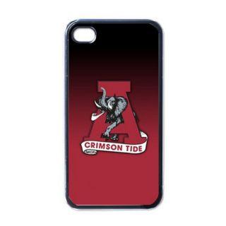 Alabama Crimson Tide Black Hard Case Skin for iPhone 4G