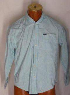 Faconnable Green Striped Shirt Albert Goldberg M