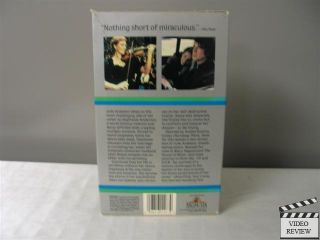 Duet for One VHS Julie Andrews Alan Bates Max Von Sydow