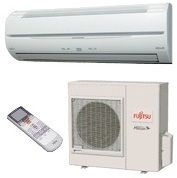 SEER Fujitsu Single Zone Mini Split Air Conditioning System AC