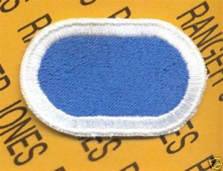 105th MI BN LRS Airborne Ranger Para Oval Patch 5th ID