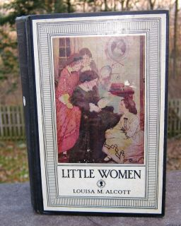 Little Women Louisa M Alcott Antique RARE Book 1928