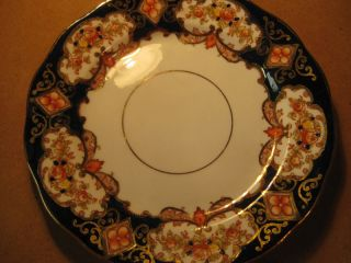 Royal Albert Crown China England Bread Plate Saucer
