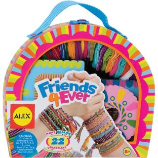 alex toys friends 4 ever bracelet making kit 737wx makes 22 friendship