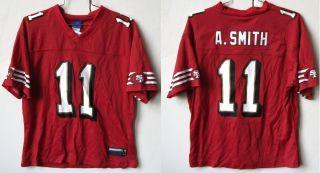 San Francisco 49ers Alex Smith 11 Ladies Womens Reebok Jersey Free