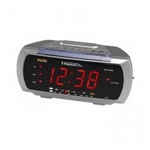 smartset dual alarm clock radio with 4 way lamp control model cks3088