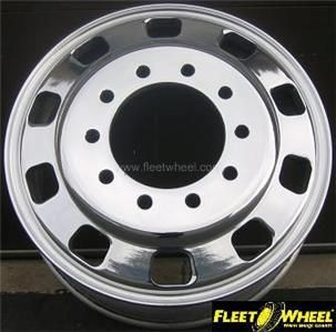 Alcoa Accuride Volvo 24 5x8 25 Aluminum Truck Wheels 4
