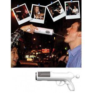 Alcohol Shot Gun Drinks Dispenser Drinking Game New
