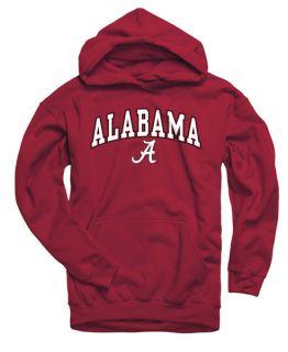 Alabama Crimson Tide Youth Cardinal Perennial II Hooded Sweatshirt