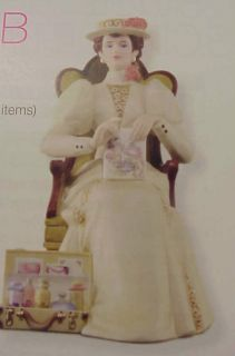 Avon Mrs PFE Albee 2011 Porcelain Figurine Full Size Presidents Club