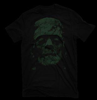 Frankensteins Horror Monster Mary Shelley on Image of Boris Karloff T