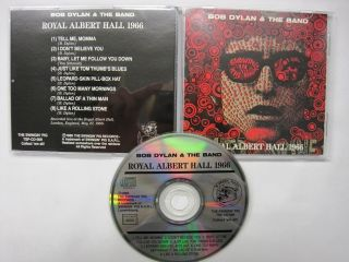 Bob Dylan and The Band RARE CD Royal Albert Hall 1966