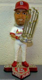 Albert Pujols St L Cardinals Bobblehead 2011 World Series Championship