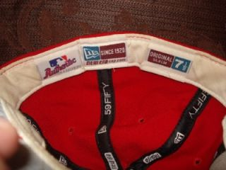 Albert Pujols Cardinals Game Used Cap Hat Certificate of Authenticity