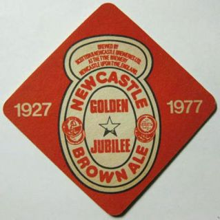 Newcastle Brown Ale Foreign Beer Coaster United Kingdom