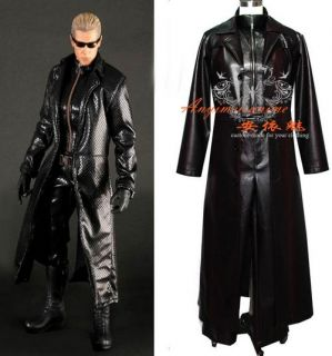 Resident Evil Afterlife Albert Wesker Coat Movie Costume Tailor Made