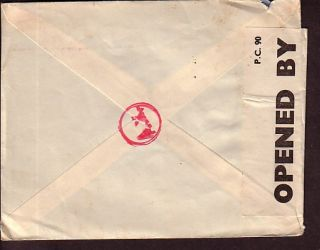 WWII PC90 German AX Censor Cover Alger BAB El Oued RC