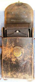 Antique Eastman Kodak No 1A Folding Pocket Camera with Leather Case