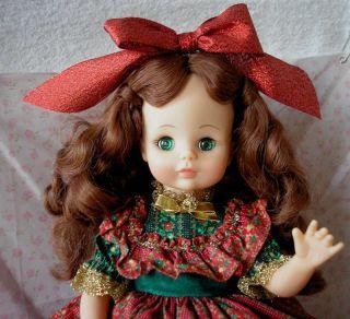 Vintage Madame Alexander Country Christmas Doll 1543