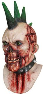 billy punk evil mohawk halloween horror mask