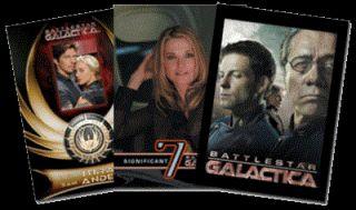 Battlestar Galactica Season 3 SEALED Trading Card Box