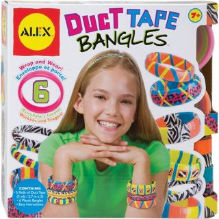 alex toys duct tape bangles 767w create these bracelets using bright