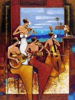 Charles Lee Island Quartet 40x30