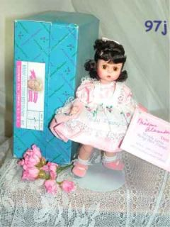 1993 Madame Alexander MADC Club Doll 8 Wendy Loves Being Best Friends
