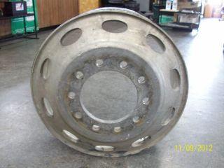 24 5 Aluminum Semi Truck Wheel Peterbilt Pete 379 359 Alcoa Hub Pilot
