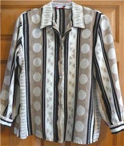 pre owned women s alia petites blouse shirt size 16