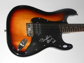 BUDDY GUY Signed Autographed FENDER Stratocaster GUITAR Blues Legend
