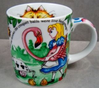 Paul Cardew Alice in Wonderland Cafe Mug Coffee Cup New