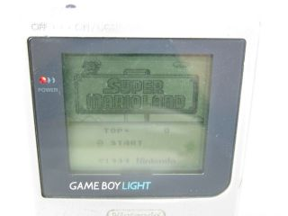 Nintendo Game Boy Light Junk Console System Silver MGB 101 Gameboy