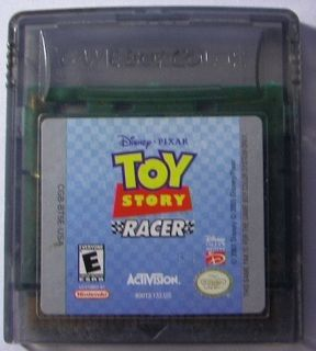 Toy Story Racer Game Boy Color Mint 047875800137