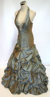 Paparazzi by Mori Lee $580 Copper Prom Ball Gown 10