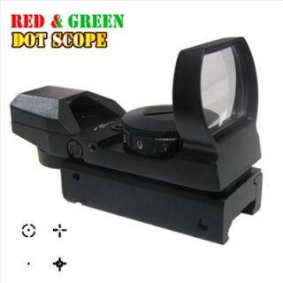 New Holographic Sight Scope Red Green Dot Spotting Scope Rifle Scopes