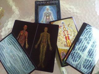 Sacred Mirrors Cards Alex Grey Tarot Oracle