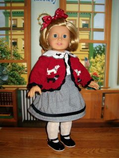 Clothes Sweater Skirt Blouse Fit American Girl Doll 18 Molly