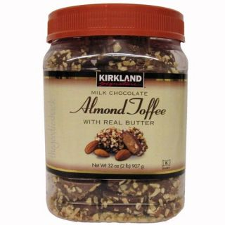 lb Kirkland Milk Chocolate Almond Toffee Butter Roca Candy