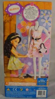 Liv Alexis Schools Out Doll Brunette Real Girls Real Life Fashion