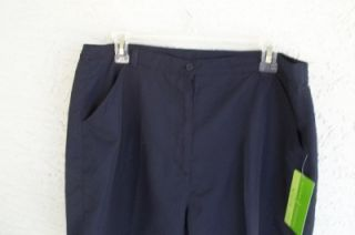 new allyson whitmore golf 16p petite navy shorts $ 42