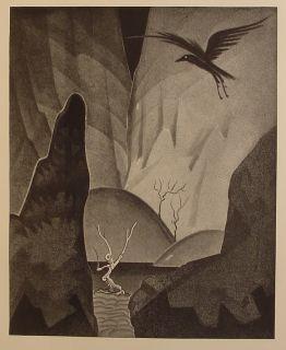 Edgar Allan Poe Goth Art Raven Occult Horror The Works of Magic Poem