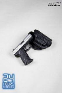 Subway Toys 24 Betrayer Tony Almeida HK Pistol & Paddle Holster (01