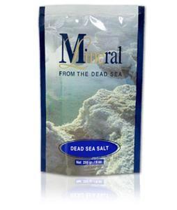 Dead Sea Spa Salt Genuine Natural Mineral Bath Salts 250gr Lot 4 Items