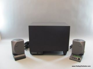 Altec Lansing ADA885 THX Multimedia Computer Speaker System Pair