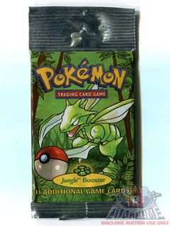 1999 Pokemon Trading Card Game Jungle Set Booster Pack Unopened SEALED