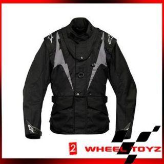 Alpinestars Venture Black Anthracite Motorcycle Jacket for BNS Medium