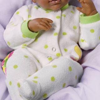 Ashton Drake Breathing African American Baby Doll