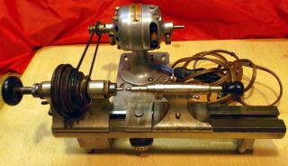 Wolf Jahn watchmakers,Jewelers Lathe,H B Motor,Borel stand, Just