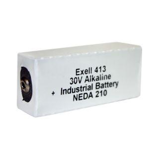 Exell 413A Alkaline 30V Battery NEDA 210, 20F20, BLR123 ER413